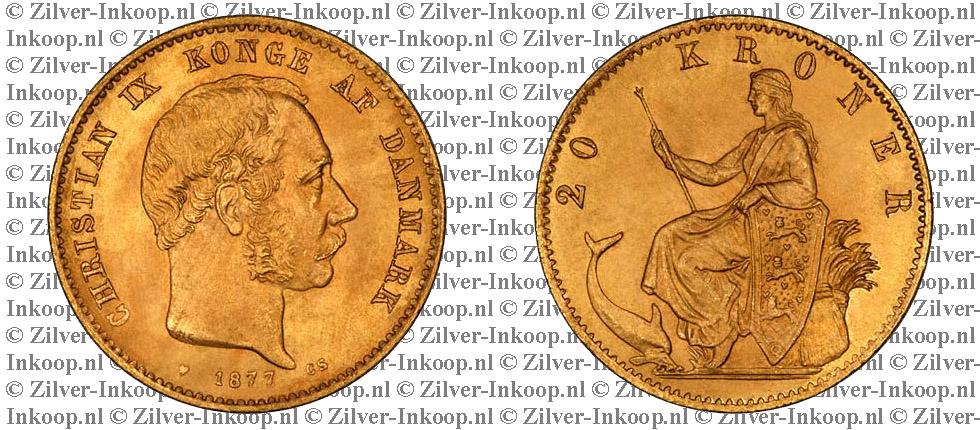 Gouden 20 Kroner Denemarken