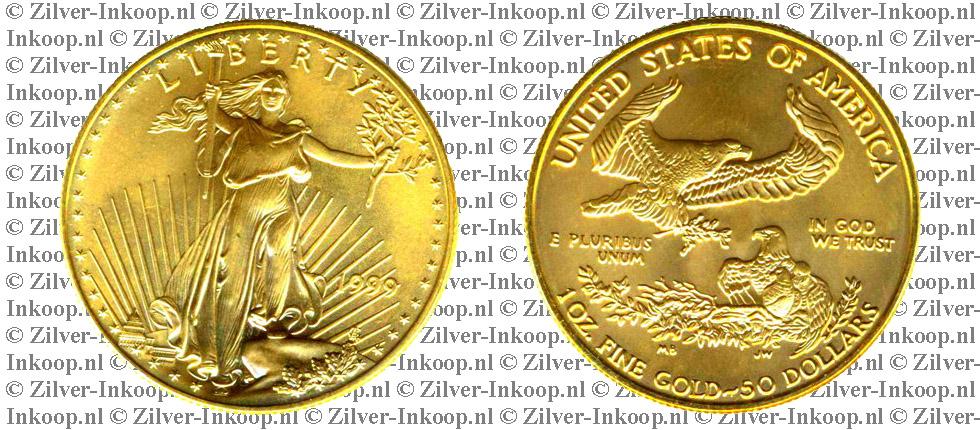 Gouden American Eagle USA