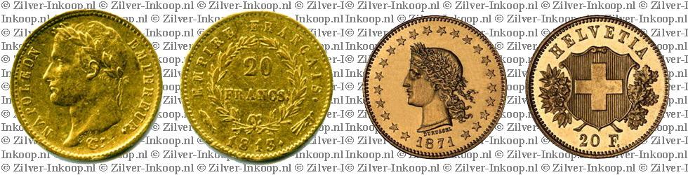Gouden 20 Francs