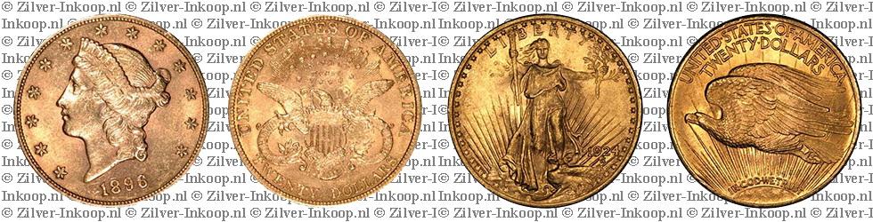 Gouden 20 Dollar USA