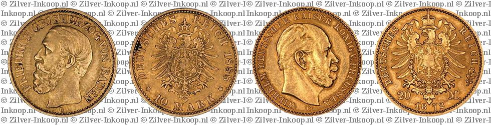 Gouden 20 Mark Duitsland