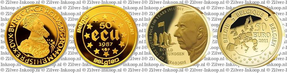 Gouden 50 ECU & Euro België