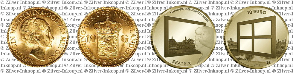 Gouden Tientje & Gouden 10 Euro