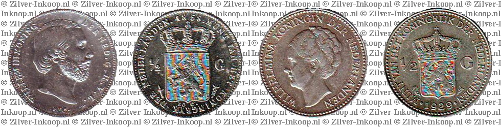 Zilveren Halve Guldens