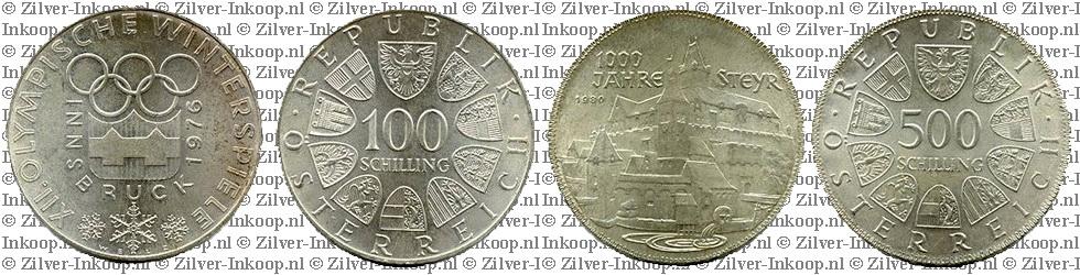 Zilveren Schillings Oostenrijk