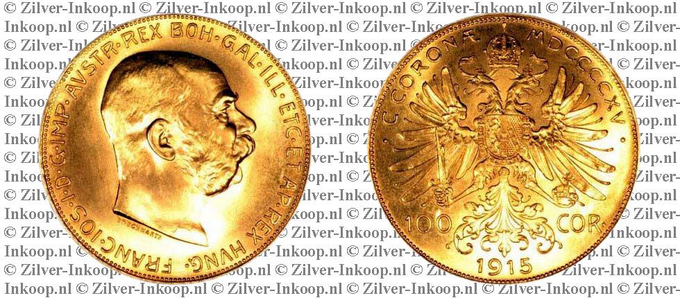 Gouden 100 Corona Oostenrijk
