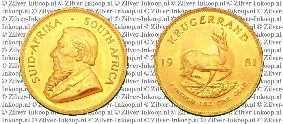 Gouden Krugerrand Zuid-Afrika